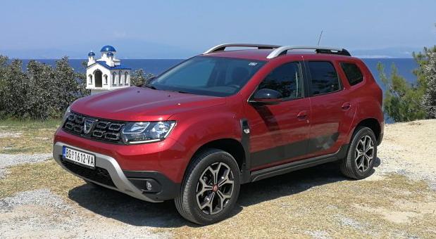 Dacia Duster na MONDO testu