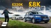 Dacia vs Bentley: Zašto trošiti previše novca na automobil? VIDEO