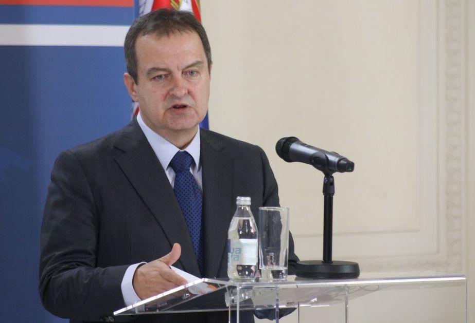 Dačić: Albanci frustrirani zbog skorih optužnica