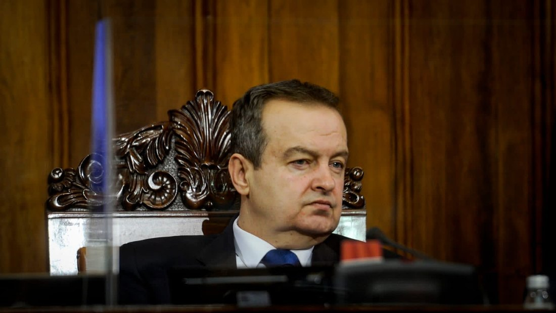 Dačić: Dijalog početkom 2021, prelazna vlada nije tema