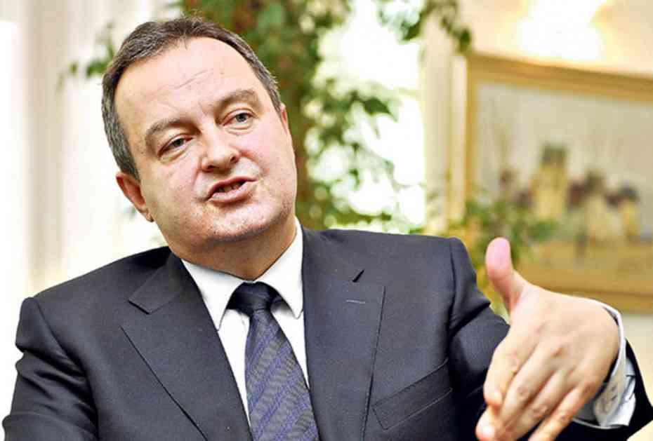 Dačić: Dobar sastanak s Tilersonom, nada u uspešnu saradnju
