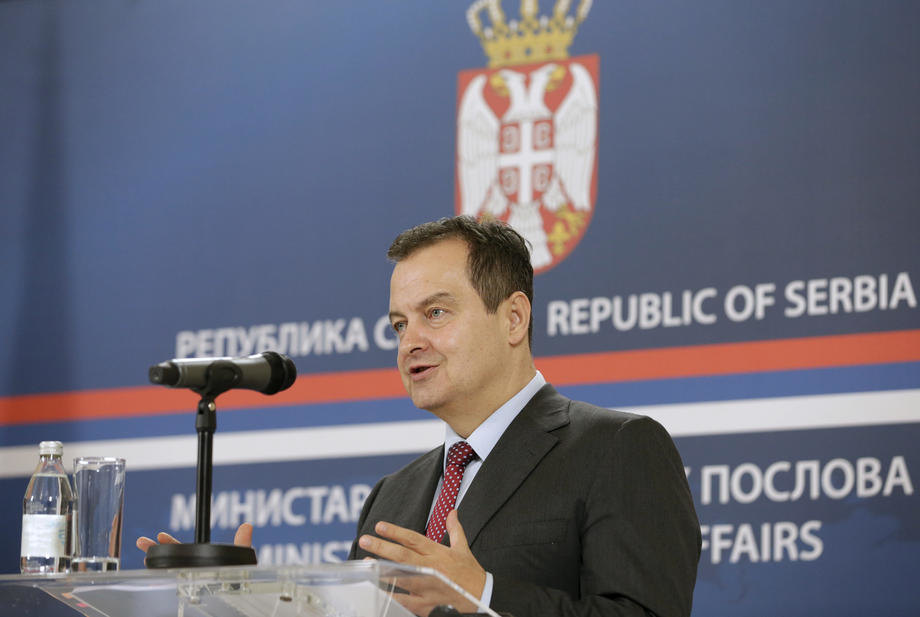 Dačić: Histerija o Vučiću u Zagrebu posledica antisrpske atmosfere