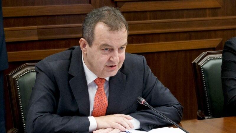 Dačić: Inckova odluka izaziva podele