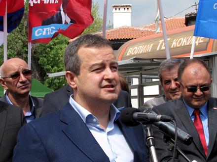 Dačić: Međustranački dijalog početkom 2021, prelazna vlada nije tema