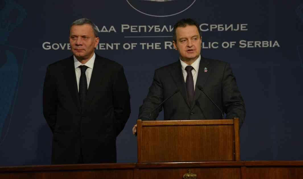 Dačić: Mogu oni da pripremaju pukove, ali mi već imamo pripremljene
