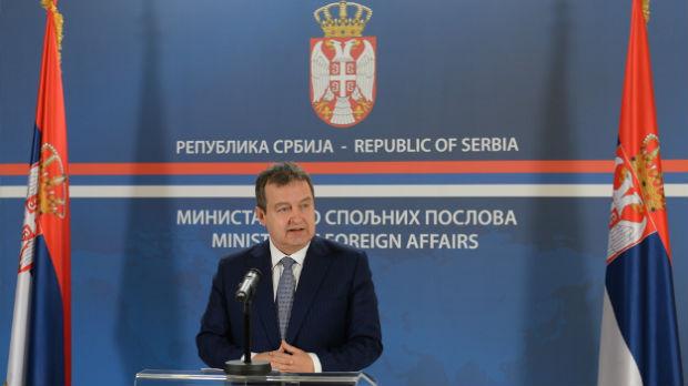Dačić: Mudra politika Srbije, dobra poruka iz EU