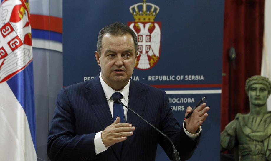 Dačić: Najava policijskog časa je bio izgovor, a pravi razlog protesta nasilno preuzimanje vlasti