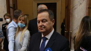 Dačić: Nisam se sklonio u Skupštinu, već da radim posao koji smo Vučić i ja smatrli da bi bilo najbolje