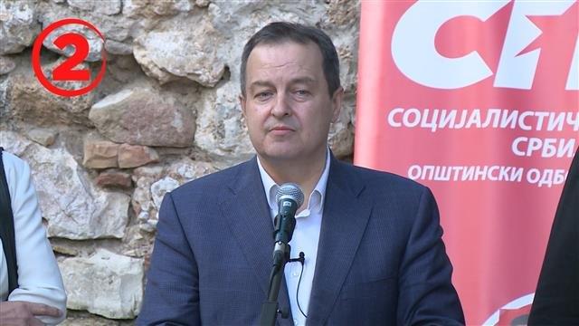 Dačić: Ostavka ako ne osvojimo više glasova nego na prošlim izborima