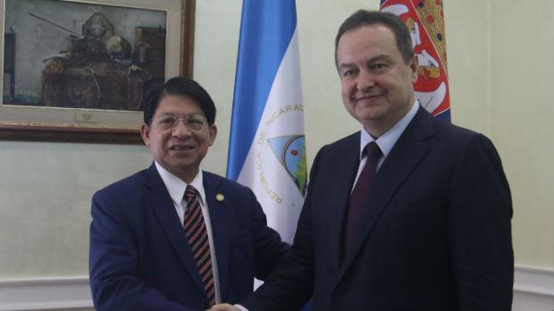 Dačić: Podrška Nikaragve bitna, njen sused prvi priznao Kosovo