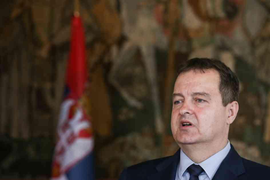 Dačić: Politički doktori nas savetuju da se okrenemo budućnosti, a misle priznajte Kosovo