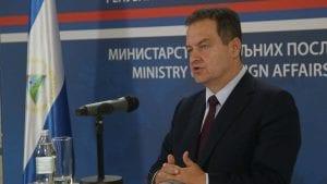 Dačić: Previše dato na važnosti saopštenju zemalja Kvinte, stvara se lažna ravnoteža