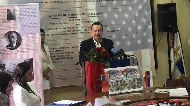 Dačić: Radimo na vraćanju posmrtih ostataka Pupina u Srbiju