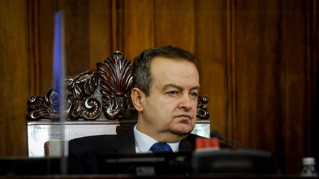Dačić: Rano je za ocene o Miloševiću, nema rešenja na tacni