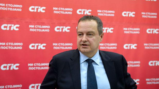 Dačić: SPS na izbore sa JS, cilj bolji rezultat nego 2016.