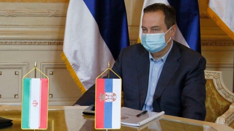 Dačić: Srbija Iranu donira 50.000 doza ruske vakcine