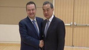 Dačić: Srbija i Kina prijatelji