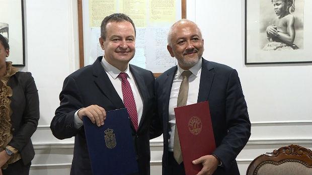 Dačić sa predsednikom Madagaskara o unapređenju odnosa dve zemlje