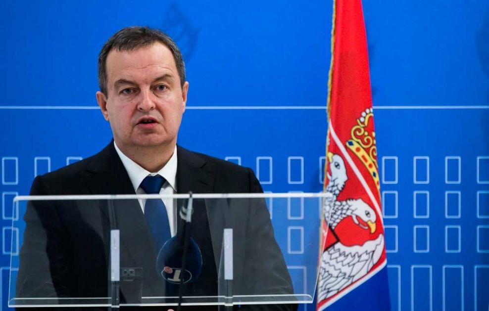 Dačić: Srbija ne pristaje na ucene u vezi sa Kosovom i Metohijom