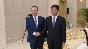Dačić: Srbija osuđuje političke manipulacije epidemijom kojima se širi antikineska atmosfera