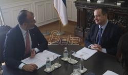 Dačić: Srbija posvećena intenzivnoj saradnji s EU u oblasti spoljne politike