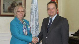 Dačić: Srbija pridaje poseban značaj aktivnostima UN-a