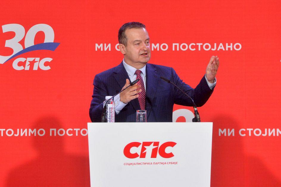 Dačić: U ponedeljak idemo na razgovore sa Vučićem