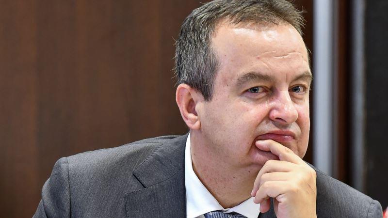 Dačić: Uhapšeni Škundrić nema veze sa SPS-om, treba da odgovara