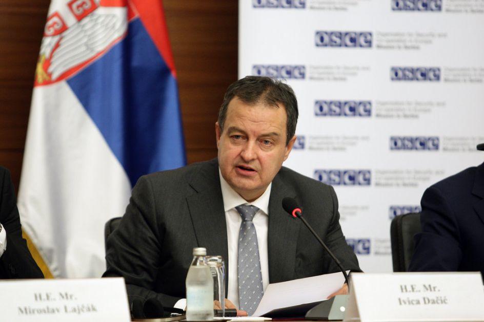 Dačić: Velike rezerve u vezi s ishodom sastanka u Parizu