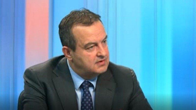 Dačić: Za nastavak pregovora sa Prištinom treba ukinuti takse