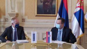 Dačić i Bratu: Spremnost za nastavak konstruktivne saradnje bazirane na poverenju