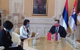 Dačič i Čen Bo o jačanju parlamentarne saradnje Srbije i Kine