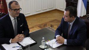 Dačić i Fabricio o saradnji EU i parlamenta Srbije i međustranačkom dijalogu