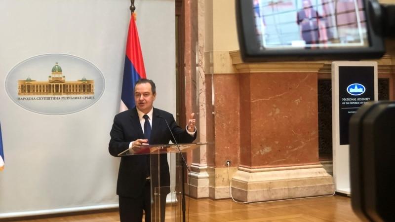 Dačić i poslanici EP održali online konsultacije o međustranačkom dijalogu