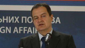 Dačić osudio pokušaj upada u Narodnu skupštinu