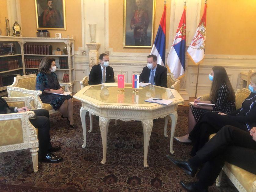 Dačić primio ambasadora Turske u oproštajnu posetu