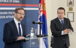 Dačić sa Gremingemom (OEBS): Značajna podrška OEBS-a Srbiji, zadovoljni smo saradnjom