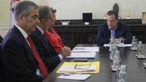 Dačić sa ambasadorima Argentine, Brazila i Kanade
