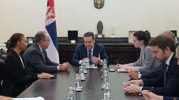 Dačić sa delegacijom Brazila