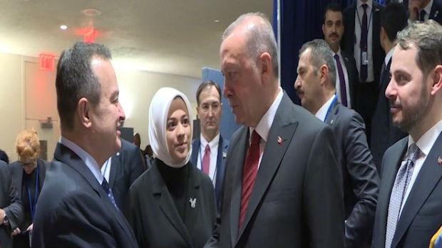 Dačić sa evropskim i svetskim zvaničnicima