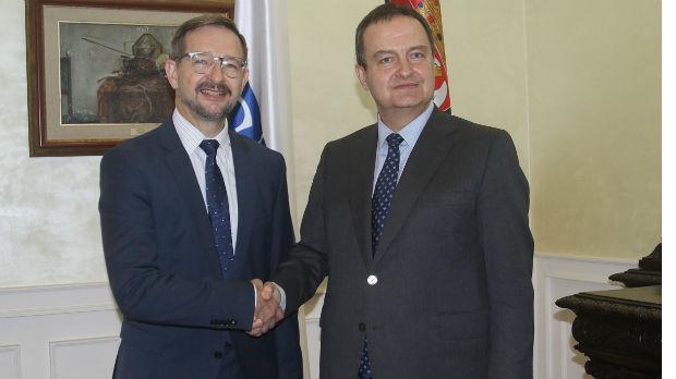 Dačić sa generalnim sekretarom OEBS-a