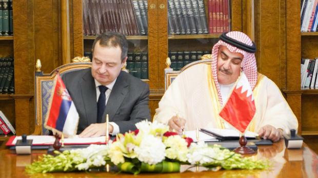 Dačić sa kolegom iz Bahreina potpisao Memorandum o saradnji diplomatskih akademija
