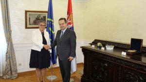 Dačić sa parlamentarcima više zemalja o njihovom odnosu sa Srbijom