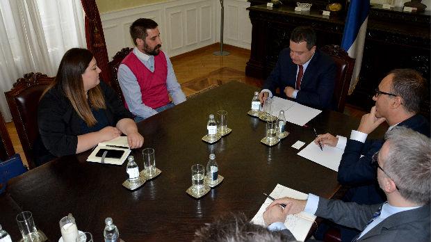 Dačić sa predstavnicima Inicijative OPENS 2019.
