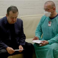 Dačić se vratio iz Kine, prošao POJAČANU KONTROLU na aerodromu zbog koronavirusa!