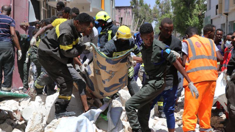 Dačić u Somaliji u trenutku terorističkog napada