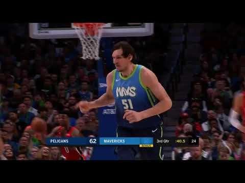 Dalas ubedljiv protiv Nju Orleansa, dabl-dabl Marjanovića (VIDEO)