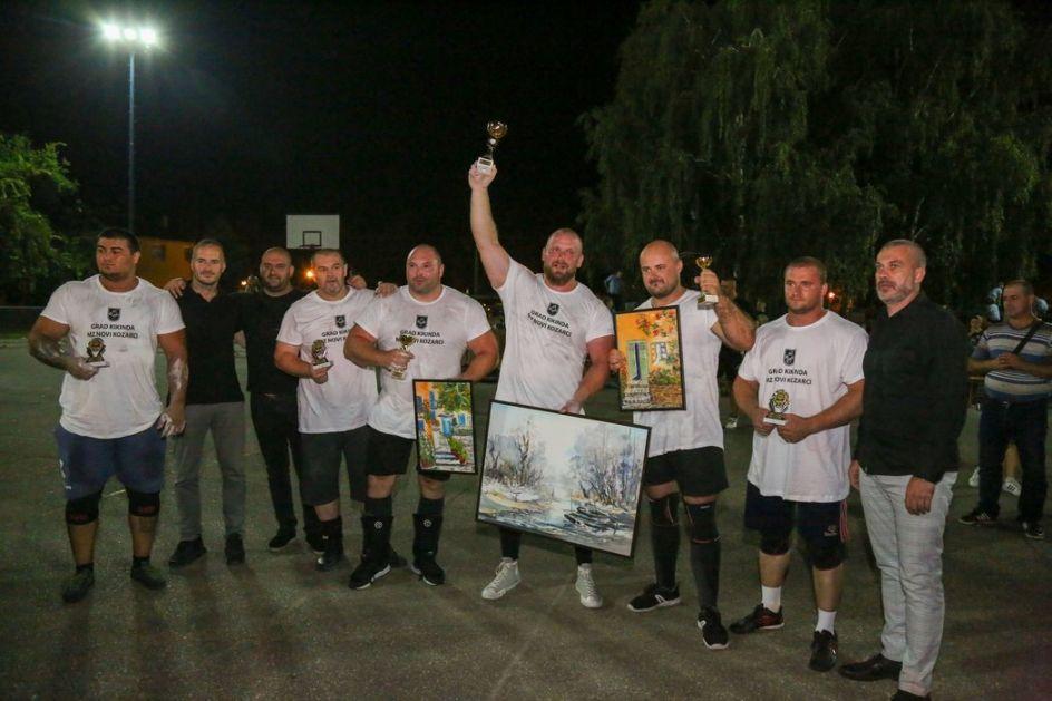 Damir Stroil iz Sarajeva pobednik je Strongmen Evro kupa