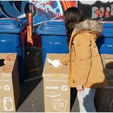 Dan planete Zemlje: Postavljene reciklažne kante u OŠ Skadarlija