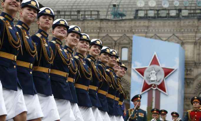 Dan pobede na Crvenom trgu u Moskvi